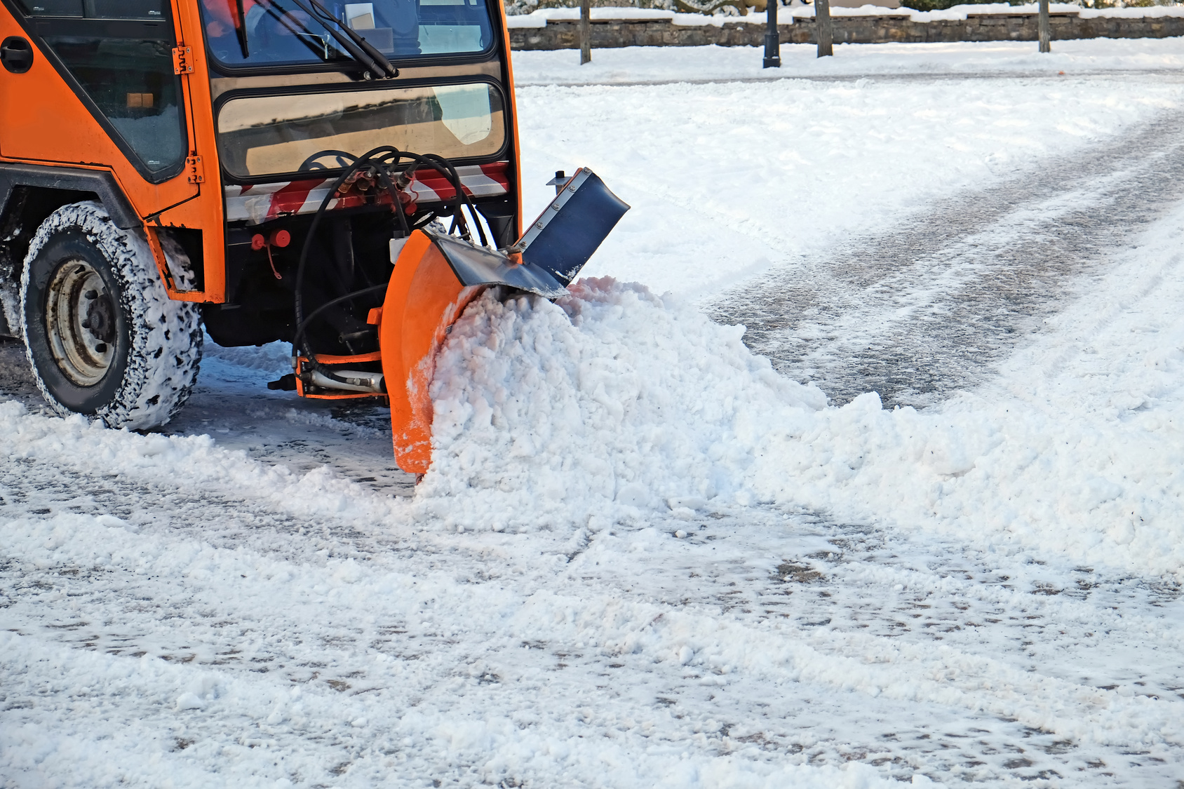 Winter maintenance of roads